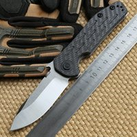 zero - Zero Tolerance ZT0630 Emerson Titanium Carbon Fiber handle D2 blade Folding washer Tactical camping hunt outdoor pocket Knife EDC tools