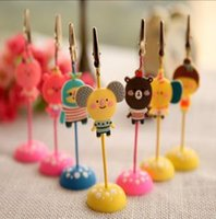 Wholesale Creative stationery lovely romane memo clip series clamp photo message clip to animals