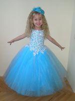 aquamarine bridesmaid dresses - Lavender Fuchsia White Aquamarine Blue Pink Flower Girl Dress Wedding Party Holiday Birthday Bridesmaid Flower Girl Tulle Lavender Dress
