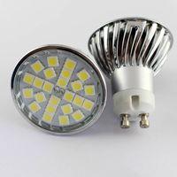 Cheap Dimmable 5W High Powered LED Spotlight GU10 E14 E27 MR16 Bulbs with SMD5050 110V 220V