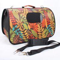bag carrier handle - Easy carry padded pet tote carrier bag handle slung over the shoulder cat dog travel bag
