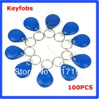 Wholesale Khz RFID Proximity ID Card Keyfobs Access Control Card Rfid Tag Blue order lt no track
