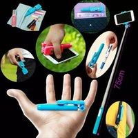 Wholesale Super Supreme mini Wireless Bluetooth Monopods Extendable Handheld Monopod as pen Pocket Selfie Stick for iPhone Samsung S6 Gopro DHL