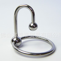 Wholesale 2015 New design Stainless Cock rings Urethral sound Glans Jewelry Cockrings dick rings for male Genital worship