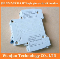 Wholesale FreeShipping Brand NEW JNG DZ47 A P circuit breaker High Quality Air switch order lt no track