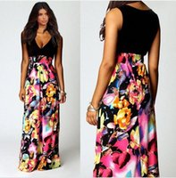 Cheap maxi dress Best splicing dresses