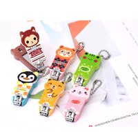 Wholesale In the new men and women creative cute cartoon nails cut animal nail clipper Nail clippers manicure cut