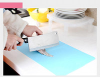 Wholesale Kitchen Cooking Tools Flexible PlastiChopping Block Cutting Chopping Board Frosted Translucent Cutting Board U0244