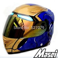 shoei helmets - Masei IRON MAN Champion Kart Racing Helmets in Brazil Arai Shoei Motorcycle Race Helmets