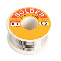 Wholesale mm New Tin Lead Tin Wire Melt Rosin Core Solder Soldering Wire Roll PTCT