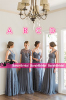 alternative bridesmaid dresses - 2016 Jenny Yoo Bridesmaid Dresses Garden Maid of Honor Gowns Alternative Different Style Bridal Party Formal Maxi Wear for Elegant Women