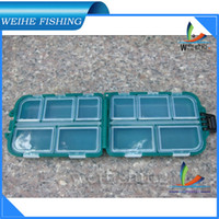 Wholesale PP material cm Double Layers Fishing Tackle Boxes Fly fishing Box spinner boxing tool HS