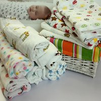 baby blanket cake - 115x115cm Spring Autumn Aden Anais Swaddleme Muslin Cotton Baby Swaddle Envelopes for Babies Character Bird Lion Cake Blanket