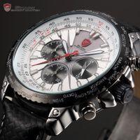 shark - New Blacktip Shark Quartz Watch Chronograph Hours Display index roman dial ATM water resistant Men s Fashion Watch SH214