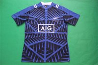 Cheap 2016 New Zealand rugby Jersey High Quality 15 16 Blue and Grey Color Cheap sell Free shipping Jerseys