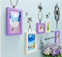 Wholesale Tai Feng new exotic photo wall stickers with frame simple solid wood frame cN7ebFb7