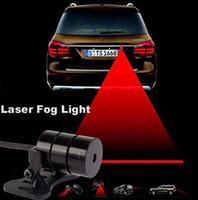 Wholesale in Rain Snow Road volt Car Laser Fog Lamp Anti Fog Light Auto Rearing Warning Light For All Cars