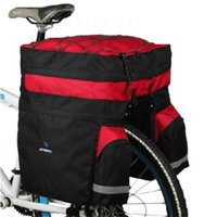 bicycle transport case - Bicycle Transport Cases Waterproof Cycling Bike Panniers Bicycle Bags Rear Rack Seat Pannier Bag With Rain Cover
