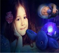 baby sea turtles - Led Night Light Projector Projection Lamp with Music Baby Kids Sleep Aid Plush Turtle Lamp Ocean Blue Sea Waves Valentine Gift