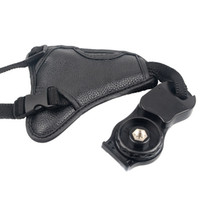 Wholesale Practical PU Leather Camera Hand Grip Wrist Strap Triangle Belt for Nikon Canon Sony