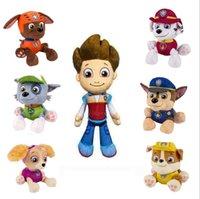 Wholesale Pyder Patrol Dog Plush Toys Styles Patrol Dog Figures Soft Suffer Dolls for Kids Gifts