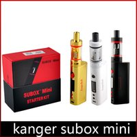 Cheap Kanger Subox mini Best E-cigarette Kits