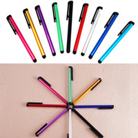 Wholesale Capacitive Screen Stylus Pen Touch Pen For iPhone SE s iPad iTouch Samsung Galaxy Sony LG Moto All Cellphone iPad Tablet PC