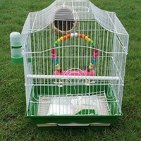 Wholesale Hot Sale Foldable Smith Steel Large Bird Cage for cockatiel quail parrot Bird Cage