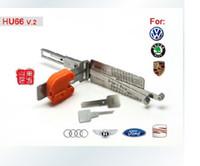 Wholesale SMART in auto pick decoder HU66 V2 LOCKSMITH TOOLS lock picks set