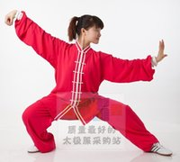 Wholesale clothing exclusive professional new heavy cotton rose and bilateral clothes and martial arts clothing for men and women