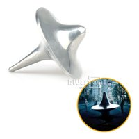 Wholesale FASHION ORIGINAL INCEPTION TOTEM ACCURATE SPINNING TOP ZINC ALLOY SILVER NEW