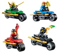 toy motorcycle - NINJAGO weapons motorcycle Building Block doll SY202 Kids Educational Toys Brick Toy Gift SY202
