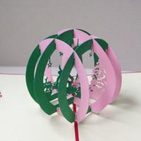 christmas cards - 3D Christmas Paradise Handmade Creative Kirigami Origami Pop UP Christmas Card set of