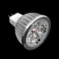 Wholesale 2014 Home lighting W V MR16 Power Cold White Lamps Cold Focus Spot LED Light Bulb LED downlight