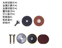 angle grinder metal cutting blade - 12Pcs Angle grinder metal cutting piece cast grinding woodworking saw blade drill variable Angle cutting cut wear suits order lt no track