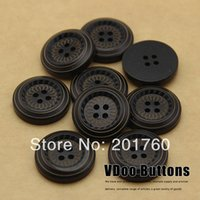 Wholesale Button popishly natural eco friendly double circle sweater overcoat decoration buckle mm