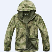 atacs fg - Fall Atacs FG Windbreaker Jacket Military Outdoor Sports Jacket Soft Hard Shell Windproof Jacket Coat