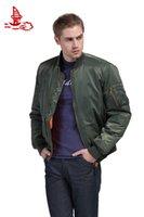Cheap Fall-Tactical ma-1 flight jacket,Airborne army jacket,pilot men plain bomber jacket