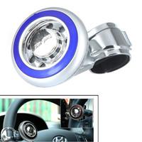 Cheap Car Steering Wheel Knob Ball Hand Control Power Handle Grip Spinner Silver