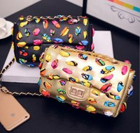 adele single - Chains Handbags Adele Flap Women Bag Scarves Interweaved Bags For Women Designer Leather Handbags High Quality bolsa feminina