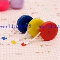 Wholesale Convenient and practical retractable tape measure plastic tape measure clothing feet soft feet