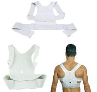 band shoulder - Magnetic Posture Support Corrector Back Belt Band Pain Feel Young Belt Brace Shoulder for Sport Safety