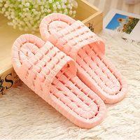plastic slippers - Slippers summer slippers female slip resistant bathroom slippers plastic child slippers at home shoes