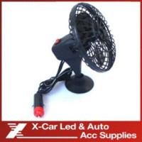 automobile cooling fans - 2014 New V Powered Mini Automobile Fan Car Truck Vehicle Cooling Cool Air Fan with Suction Cups Black M49069