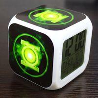 Wholesale Factory Green Lantern Green Lantern Justice League colorful color mood alarm clock nightlights Hot