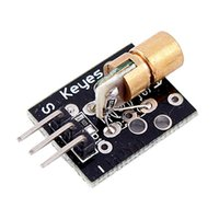 arduino laser - 1pc nm KY V Transmitter Laser Sensor Module for Arduino PIC AVR Transducer Source Wavelength New
