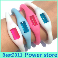Wholesale Hot Sales Summer mosquito repellent bracelet Mosquito Repellent Band Mosquito Killer candy color silicone wristband