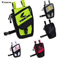 Wholesale 2015 New Riding Tribes back bag rough road UglyBROS X CASE Komine Small oil TAICHI bag Fluorescent Green sticker DHL