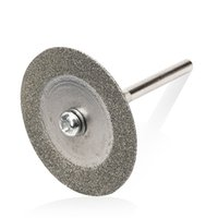 Wholesale 2pc mm Diamond coated rotary cutting cut wheel disc with arbor