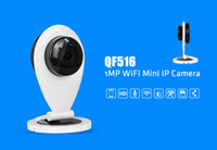 Wholesale 2015 new SunVision p wifi mini camera QF516 two way audio p2p remote monitor support gb TF card Motion Detection wilreless ip camera